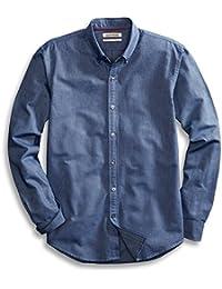 Men's Standard-Fit Long-Sleeve Solid Oxford Shirt