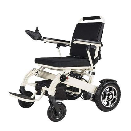 Dapang Silla de Ruedas eléctrica Plegable para Movilidad con ...