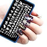 Start Halloween DIY Nail Art Image Stamp Stamping Plates Manicure Template
