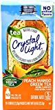 Crystal Light On The Go Peach Mango Green Tea Drink Mix, 10-Packet Box (Pack of 40)