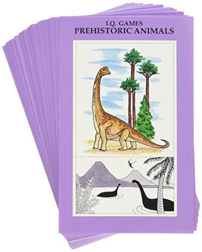 I.Q. Games Dinosaurs and Prehistoric Life Quiz Card Game