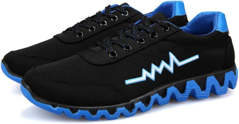 Bluestercool Zapatos de Deporte Casual de Lona Hombres Fashion ...