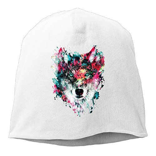 Lion Owl Wolf Tiger Cat Women/Men Wool Hat Soft Stretch Beanies Skull Cap (Catwoman Hat)