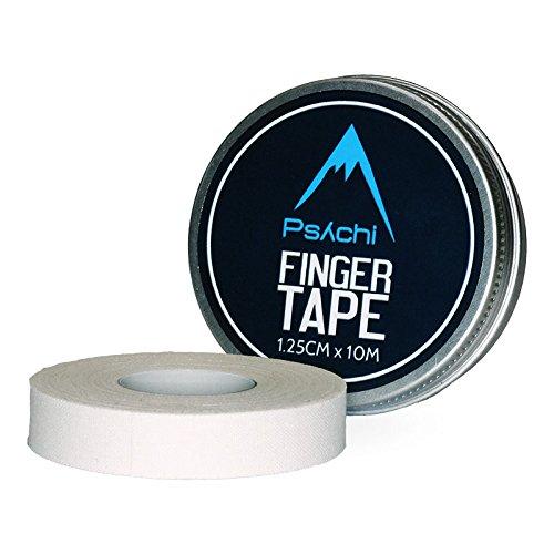 Psychi Finger-Tape, zum Klettern/Boxen, Weiß Weiß weiß 1.25cm
