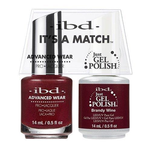ibd Advanced Wear Color Duo Brandy Wine #520 UV Gel Color