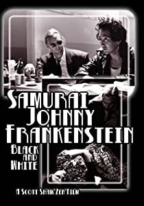Samurai Johnny Frankenstein Black and White