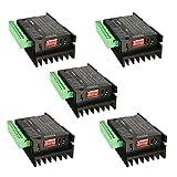 SODIAL(R) 5PCS CNC Single Axis 4A TB6600 Stepper Motor Drivers Controller