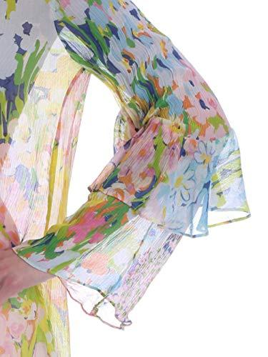 A0208 Multicolor Alberta Ferretti Viscosa Donna e in cod Seta Blusa z8vqz