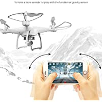 YiDing Remote Control Quadcopter Wifi Drone with HD Camera and Set Height Function Aircraft