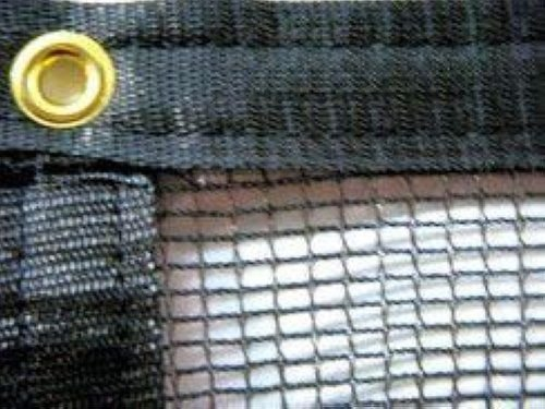 PREMIUM POND NETTING 20' x 25' BLACK KNIT 1/8'' MESH WITH 3/8'' BRASS GROMMETS ;PO#44T-KH/435 H25W3326881 by Premium