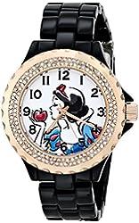 Disney Women's W001000 Snow White Black Enamel Watch