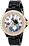 Disney Women's W001000 Snow White Black Enamel Watch