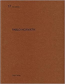 Books By Miroslav Sik Heinz Wirz_pablo Horvath De Aedibus ...