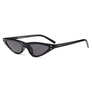Juleya Small Sunglasses Femme Vintage Lunettes de soleil Cat Eye UV400 C1 kzl1BV