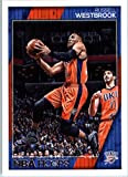 2016-17 Panini NBA Hoops #131 Russell Westbrook Oklahoma City Thunder Basketball Card