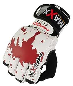 Guantes de MMA UFC boxeo jaula pelea de boxeo NHB BJJ sangre diseño - pasos