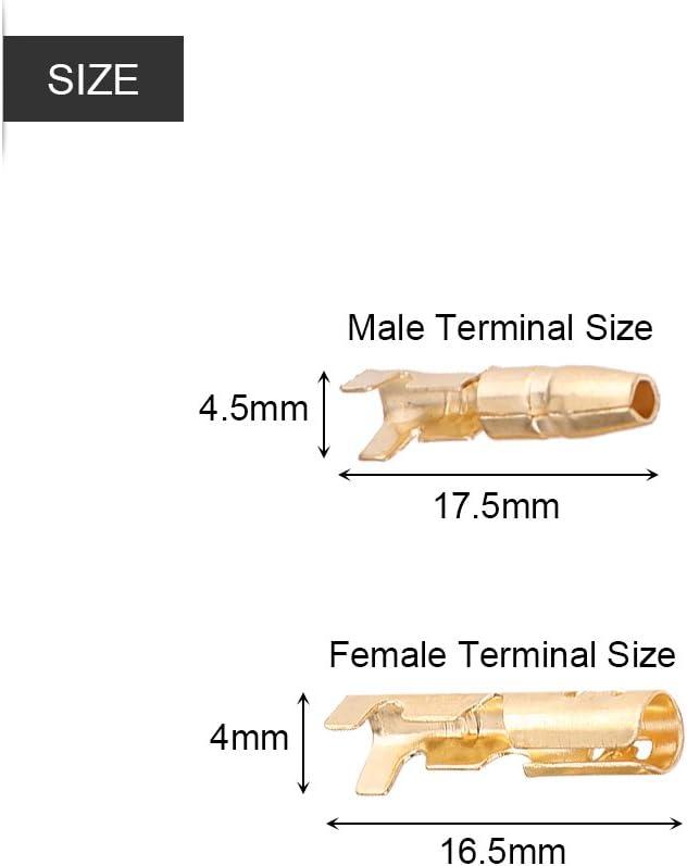 Abstandshalter Stecker /& Buchse 3,5-mm-Stecker 40 st/ücke MF Messing Kugel 3,5mm Stecker Terminal Male /& Female GTC mit Isolierabdeckung