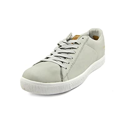 cheap for discount 83b74 2e3e1 PUMA Clyde x Undftd Luxe - Stripe Off (Grey Violet/Natural)