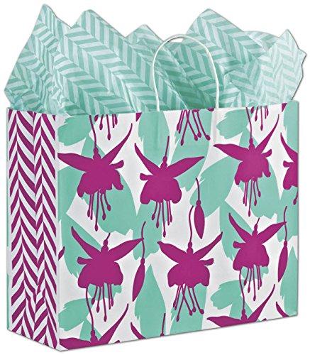 EGP Shoppers 16 x 6 x 12 1/2 (Fuchsia Floral) (Floral Shopper)