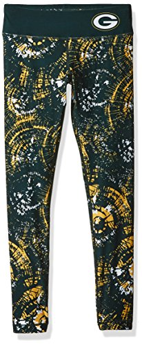 Green Bay Packers Thematic Print Legging -