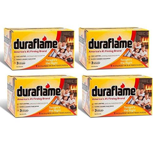 Duraflame 4-lb Firelogs Pack of 24