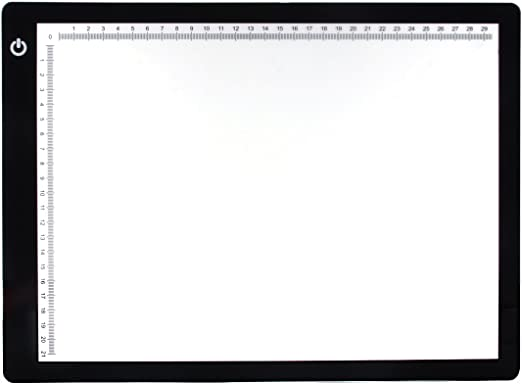 Xcellent Global Caja de Luz Para Calcar, Tamaño A4, LED, Iluminación Ajustable, Ideal Para Animacion, Tatoo, Dibuja LD073 …: Amazon.es: Iluminación