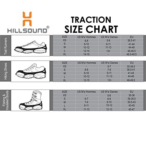 Hillsound Trail Crampon Ultra, Blue, Large by Hillsound (Image #3)