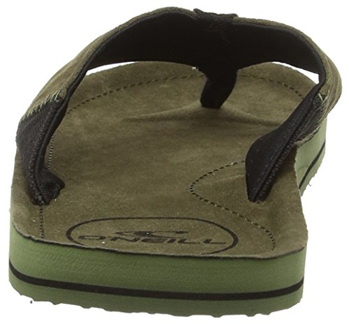 Grün Leaves Tongs FM Chad 6043 O'Neill Olive Homme YFIEA