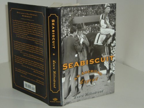 SEABISCUIT By LAURA HILLENBRAND 2001 nice copy