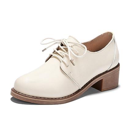 Hwf Estilo Británico Para Zapatos Mujer De qrxCRIrwz