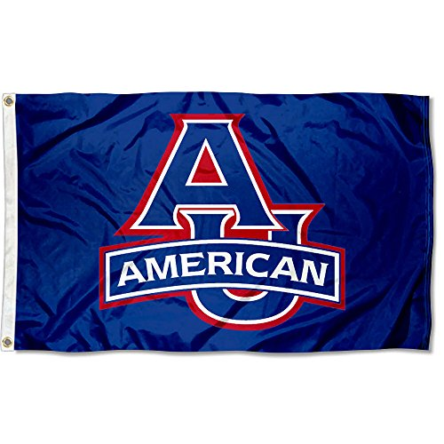 American Eagles AU University Large College Flag ()