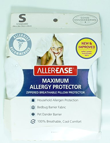 AllerEase Maximum Bed Bug Protection Pillow Cover