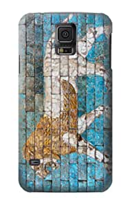 S1668 Passing lion Babylon Case Cover For Samsung Galaxy S5