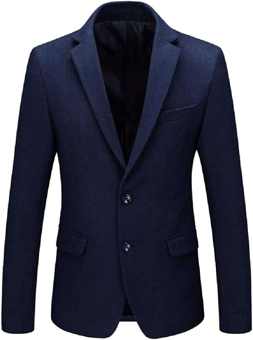 NestYu Mens Casual Tailored Fit Notch Lapel Blazer Jacket