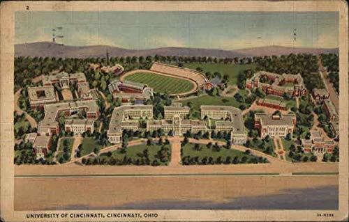 University of Cincinnati Cincinnati, Ohio OH Original Vintage Postcard 1939