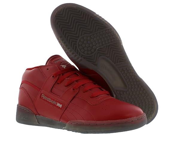 447a9218f7ca Reebok Workout Mid R12 Men s Shoes Size 10  Amazon.co.uk  Shoes   Bags