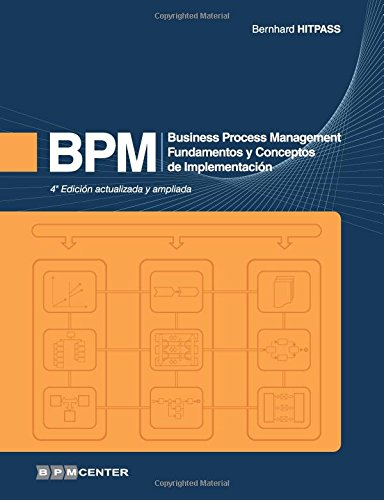 BPM: Business Process Management - Fundamentos y Conceptos de Implementacion  [Hitpass, Dr. Bernhard] (Tapa Blanda)