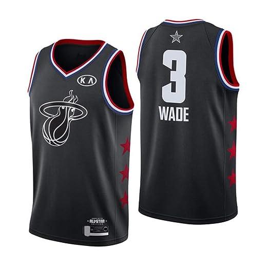 Playera Deportiva Sin Mangas para Hombre - NBA Miami Heat 3# Wade ...