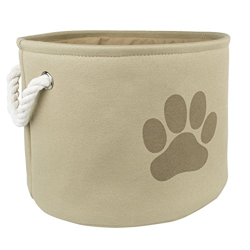 Image of DII Bone Dry Small Round Pet Toy and Accessory Storage Bin, 12