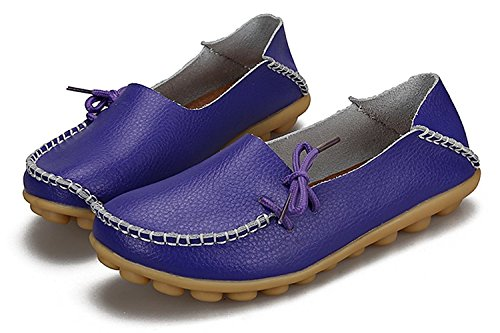 Office VenusCelia Loafer Flat Comfort Purple Walking Women's HBFUq