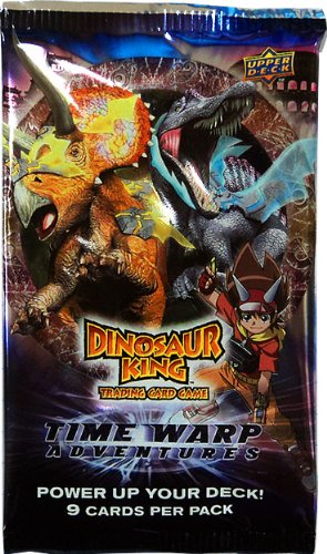 Dinosaur King Trading Card Game Series 6 Time
