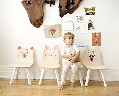 Oeuf Rabbit Play Chairs and Table Set in Walnut by Oeuf Nursery Cribs and Furniture (Image #5)