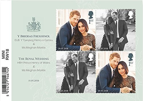 The Royal Wedding Miniature Stamp Sheet 2018 Royal Mail