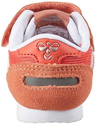 Hummel Reflex Infant, Zapatillas Unisex Niños Naranja (Rose Dawn)