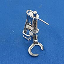 Kalevel Domestic Sewing Machine Open Toe Metal Quilting Embroidery Presser Foot for Brother Singer Janome Toyota