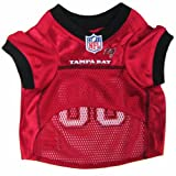 Pets First NFL Tampa Bay Buccaneers Jersey, X-Small, My Pet Supplies