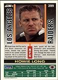 1992 Score #399 Howie Long Near Mint/Mint