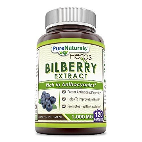 1000 mg bilberry - 5