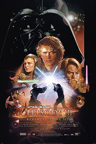 - POSTER STOP ONLINE Star Wars: Episode III - Revenge of The Sith - Movie Poster/Print (Regular Style) (Size: 24'' x 36')
