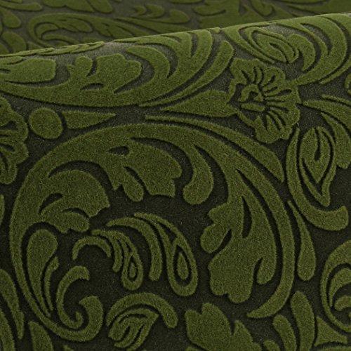 Cat Litter Mat Cat Sleep Mat Pet Floor Mat Pet Food Mat Multifunctional Cat Mat with Premium Flocked Fabric Top and Natural Rubber Bottom by RayCC (20''x16'',Deep Green)